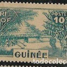Sellos: GUINEA FRANCESA YVERT 129 NUEVO CON GOMA. Lote 277477843