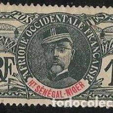 Sellos: ALTO SENEGAL NIGER YVERT 1 NUEVO SIN GOMA. Lote 277580698
