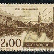 Sellos: MOZAMBIQUE IVERT Nº 371 (AÑO 1948), ORILLAS DEL RIO PINGUE, USADO. Lote 277731048