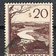 Sellos: MOZAMBIQUE IVERT Nº 362 (AÑO 1948), LA CIUDAD DE ZUMBO, USADO. Lote 277735718