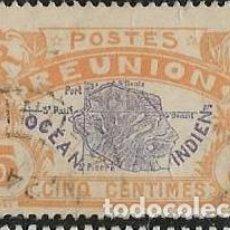 Sellos: ISLA REUNIÓN YVERT 84. Lote 277760048