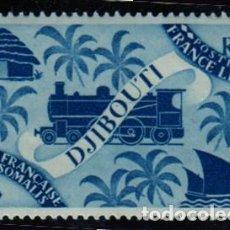 Sellos: ÁFRICA. COSTA DE LOS SOMALÍES. FERROCARRIL. AÑO 1943. NUEVO SIN CHARNELA.. Lote 278304828