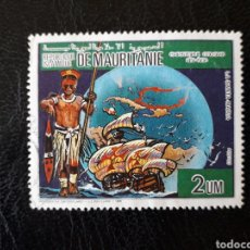Timbres: MAURITANIA YVERT 587 SELLO SUELTO USADO 1986 DESCUBRIMIENTO DE AMÉRICA PEDIDO MÍNIMO 3 €. Lote 278549848