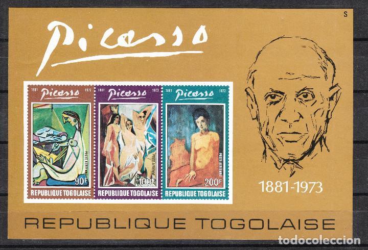 TOGO PICASSO 1974 SCOTT C219A ** (Sellos - Extranjero - África - Otros paises)