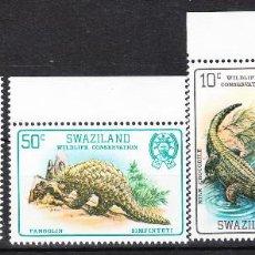 Sellos: 1980 SWAZILAND YVERT 360/63 SERIE COMPLETA X 2 **. Lote 287162518