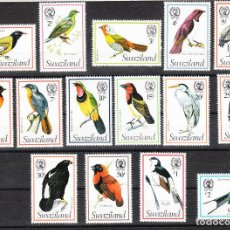 Sellos: SWAZILAND 1976-78 SG 236/50A SERIE COMPLETA **. Lote 287213713
