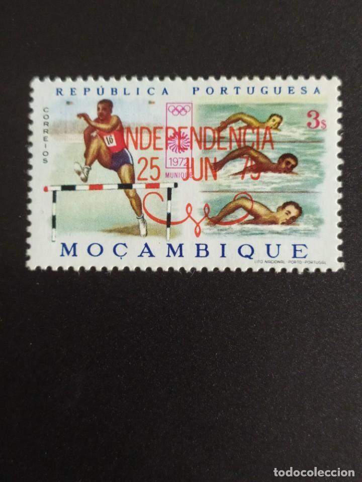 ## MOZAMBIQUE NUEVO 1972 RESELLO INDEPENDENCIA 1975## (Sellos - Extranjero - África - Otros paises)