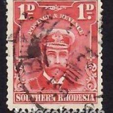 Sellos: RHODESIA DEL SUR (1924-1929). REY JORGE V DE INFLATERRA. USADO.. Lote 288341998
