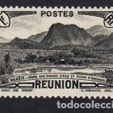 Sellos: REUNION (1940). SALAZIÉ. YVERT Nº 164. NUEVO*** SIN FIJASELLOS.. Lote 288487338