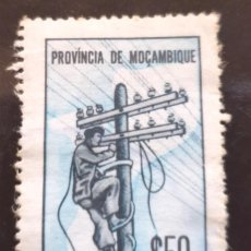 Sellos: MICHEL MZ Z67 - MOZAMBIQUE - TELECOMMUNICATIONS - 1965. Lote 288610283