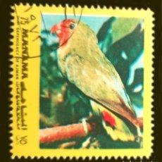 Sellos: MICHEL AJ-MN A944BA - MANAMA - ANIMALS - 1972. Lote 288976943