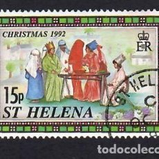 Sellos: SANTA ELENA (1992). NAVIDAD. USADO.. Lote 289522888