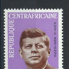 Sellos: CENTRAFRIQUE PA N°26* (MH) 1964 - JOHN F. KENNEDY. Lote 289774168