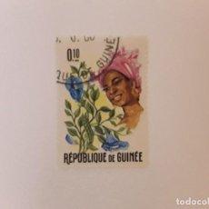Sellos: REPUBLICA DE GUINEA SELLO USADO. Lote 296964188