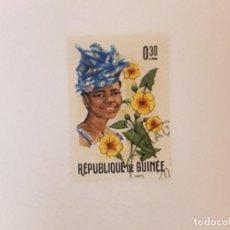 Sellos: REPUBLICA DE GUINEA SELLO USADO. Lote 296964213