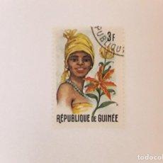 Sellos: REPUBLICA DE GUINEA SELLO USADO. Lote 296964238