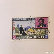 Sellos: ETIOPIA SELLO USADO. Lote 296964843