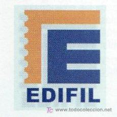 Sellos: OFERTA HOJAS EDIFIL 1975MONARQUIA/83 ESPAÑA ESTUCHES NEGROS Y TAPA PLASTICO, SIN SELLOS PVP 190. Lote 153541312