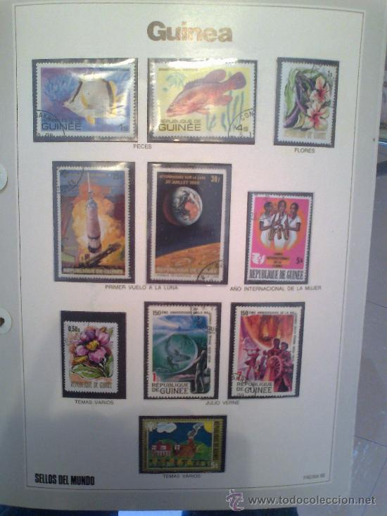 Sellos: Coleccion Sellos del Mundo 5 tomos (ediciones Urbion) principios años 80. 1º Edición. - Foto 3 - 29781164