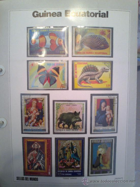 Sellos: Coleccion Sellos del Mundo 5 tomos (ediciones Urbion) principios años 80. 1º Edición. - Foto 4 - 29781164
