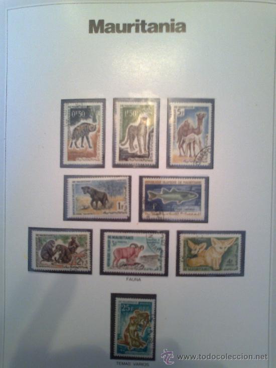 Sellos: Coleccion Sellos del Mundo 5 tomos (ediciones Urbion) principios años 80. 1º Edición. - Foto 6 - 29781164