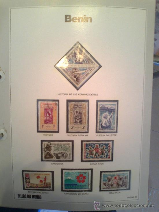 Sellos: Coleccion Sellos del Mundo 5 tomos (ediciones Urbion) principios años 80. 1º Edición. - Foto 14 - 29781164