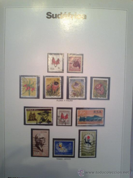 Sellos: Coleccion Sellos del Mundo 5 tomos (ediciones Urbion) principios años 80. 1º Edición. - Foto 22 - 29781164