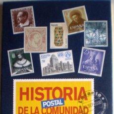 Sellos: ALBUM HISTORIA POSTAL DE LA COMUNIDAD VALENCIANA DESDE 1850 HASTA EL 2000 SELLOS METÁLICOS. Lote 35236108