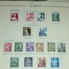 Sellos: SELLOS DE ESPAÑA II CENTENARIO ALBUM 1950-1979. Lote 35607856