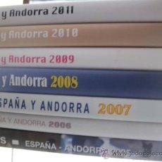 Sellos: COL. DE SELLOS COMPLETA ESPAÑA Y ANDORRA EN ALBUM DE CORREOS DE 2006 / 07 / 08 / 09 / 2010 Y 2011. Lote 36917169