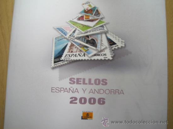 Sellos: COL. DE SELLOS COMPLETA ESPAÑA Y ANDORRA EN ALBUM DE CORREOS DE 2006 / 07 / 08 / 09 / 2010 Y 2011 - Foto 2 - 36917169