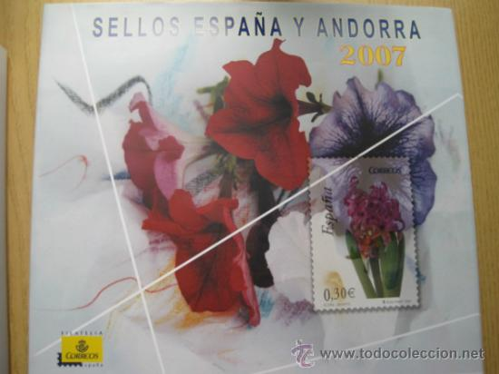 Sellos: COL. DE SELLOS COMPLETA ESPAÑA Y ANDORRA EN ALBUM DE CORREOS DE 2006 / 07 / 08 / 09 / 2010 Y 2011 - Foto 3 - 36917169
