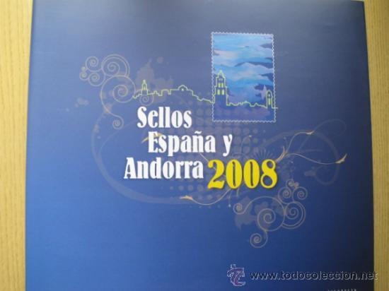 Sellos: COL. DE SELLOS COMPLETA ESPAÑA Y ANDORRA EN ALBUM DE CORREOS DE 2006 / 07 / 08 / 09 / 2010 Y 2011 - Foto 4 - 36917169