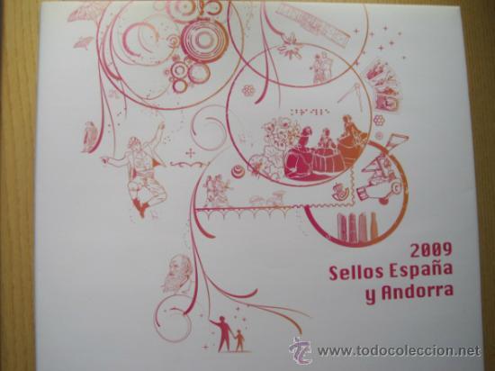Sellos: COL. DE SELLOS COMPLETA ESPAÑA Y ANDORRA EN ALBUM DE CORREOS DE 2006 / 07 / 08 / 09 / 2010 Y 2011 - Foto 5 - 36917169