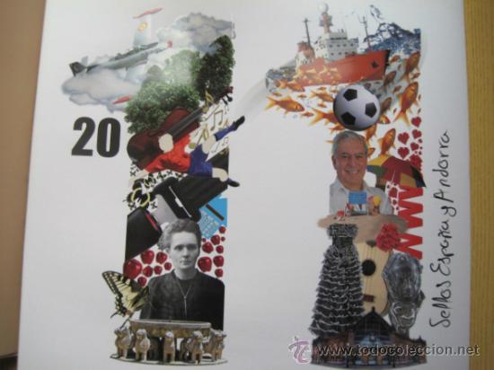 Sellos: COL. DE SELLOS COMPLETA ESPAÑA Y ANDORRA EN ALBUM DE CORREOS DE 2006 / 07 / 08 / 09 / 2010 Y 2011 - Foto 7 - 36917169