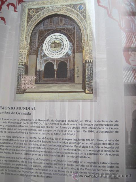Sellos: COL. DE SELLOS COMPLETA ESPAÑA Y ANDORRA EN ALBUM DE CORREOS DE 2006 / 07 / 08 / 09 / 2010 Y 2011 - Foto 8 - 36917169