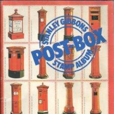 Sellos: ALBUM VACIO PARA COLECCIONAR SELLOS STANLEY GIBBONS POST.BOX STAMP ALBUM . Lote 40118002