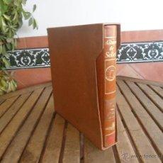 Sellos: ALBUM DE SELLOS EFILCAR 1979 1980 TIENE 22 HOJAS DE ELLAS 8 COMPLETAS CON LOS SELLOS. Lote 46057178