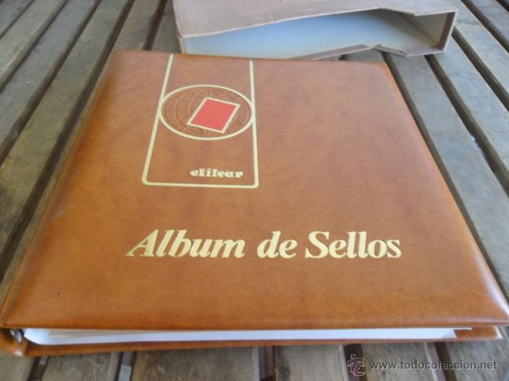 Sellos: ALBUM DE SELLOS EFILCAR 1979 1980 TIENE 22 HOJAS DE ELLAS 8 COMPLETAS CON LOS SELLOS - Foto 3 - 46057178
