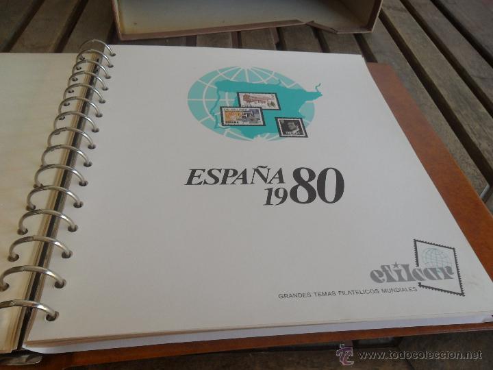 Sellos: ALBUM DE SELLOS EFILCAR 1979 1980 TIENE 22 HOJAS DE ELLAS 8 COMPLETAS CON LOS SELLOS - Foto 5 - 46057178