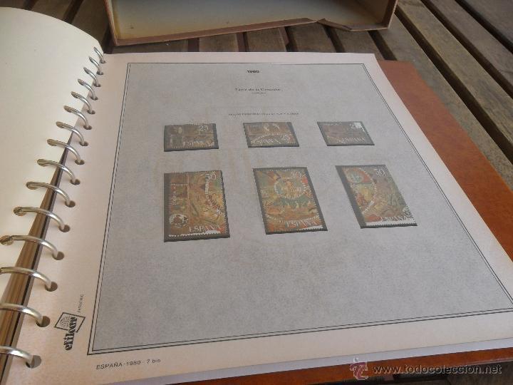 Sellos: ALBUM DE SELLOS EFILCAR 1979 1980 TIENE 22 HOJAS DE ELLAS 8 COMPLETAS CON LOS SELLOS - Foto 12 - 46057178