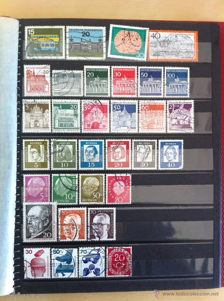 Sellos: COLECCIÓN DE SELLOS.GRECIA,ALEMANIA, MUNDIAL DE FÚTBOL, ARGENTINA, USA, INDIA, LÍBANO, OLIMPIADAS... - Foto 10 - 46133013