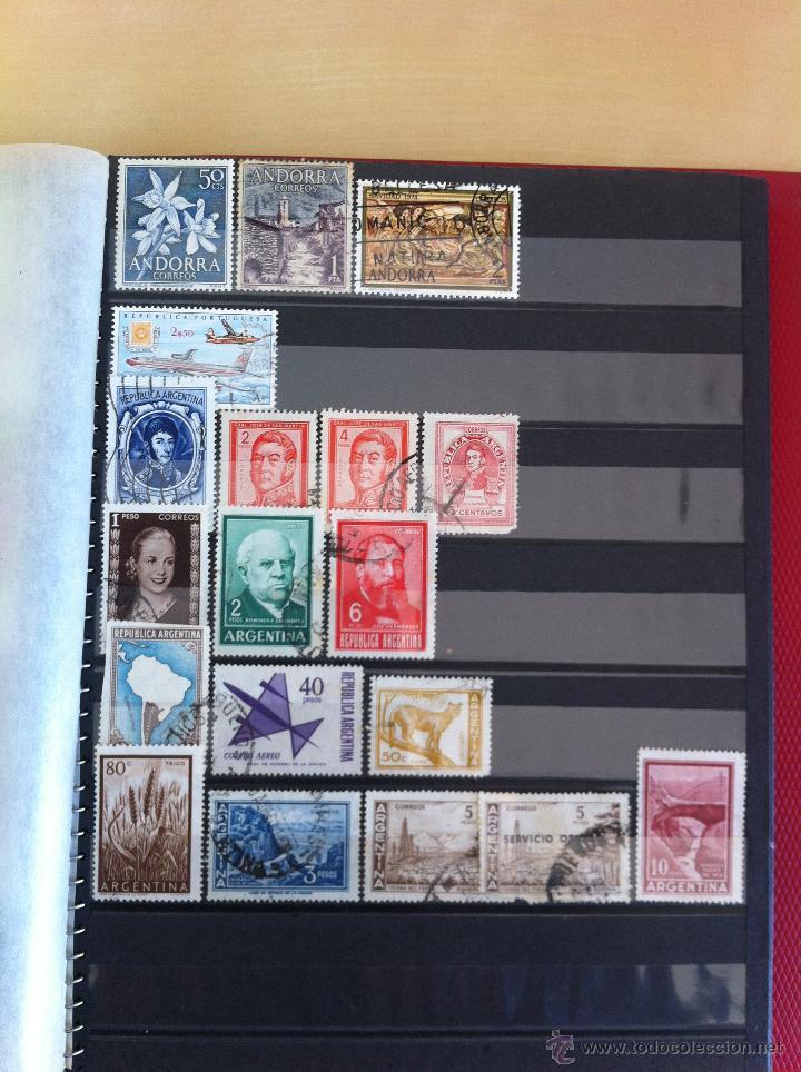Sellos: COLECCIÓN DE SELLOS.GRECIA,ALEMANIA, MUNDIAL DE FÚTBOL, ARGENTINA, USA, INDIA, LÍBANO, OLIMPIADAS... - Foto 12 - 46133013