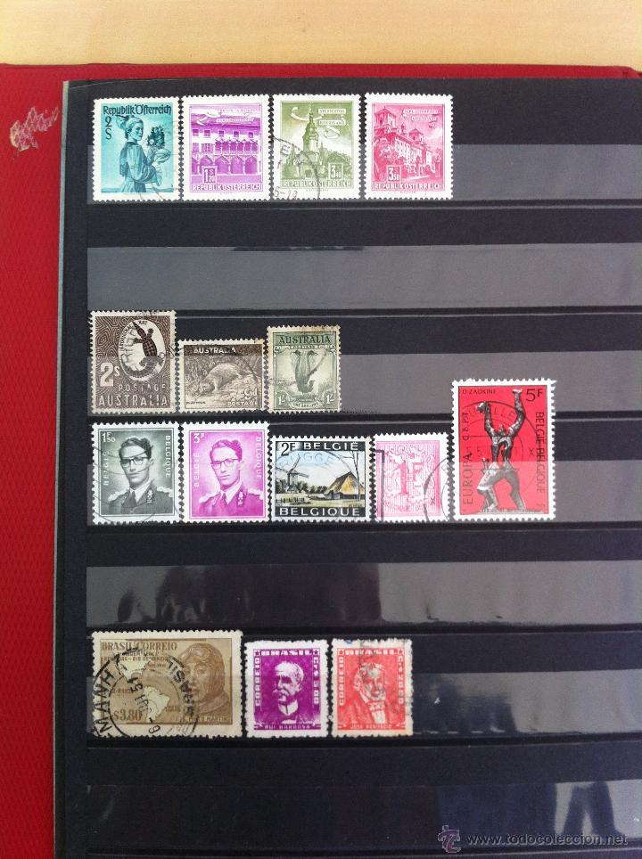Sellos: COLECCIÓN DE SELLOS.GRECIA,ALEMANIA, MUNDIAL DE FÚTBOL, ARGENTINA, USA, INDIA, LÍBANO, OLIMPIADAS... - Foto 13 - 46133013