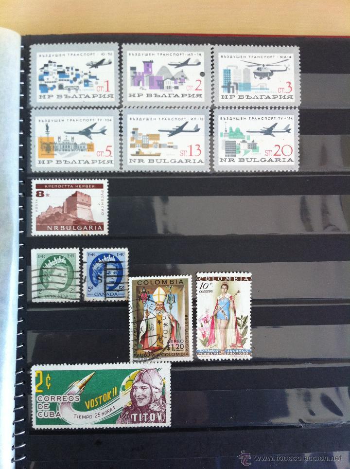 Sellos: COLECCIÓN DE SELLOS.GRECIA,ALEMANIA, MUNDIAL DE FÚTBOL, ARGENTINA, USA, INDIA, LÍBANO, OLIMPIADAS... - Foto 14 - 46133013