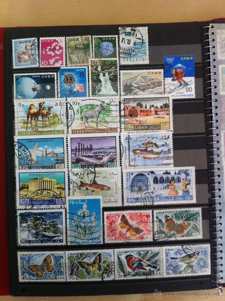 Sellos: COLECCIÓN DE SELLOS.GRECIA,ALEMANIA, MUNDIAL DE FÚTBOL, ARGENTINA, USA, INDIA, LÍBANO, OLIMPIADAS... - Foto 27 - 46133013