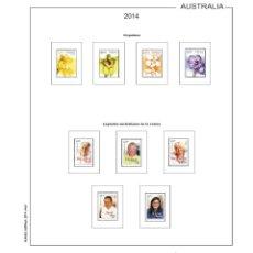 Sellos: AUSTTRALIA 2014 HOJAS DE 15 ANILLAS. Lote 46709791