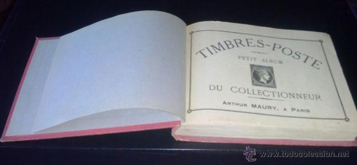 Sellos: TIMBRES-POSTE PETIT ALBUM DU COLLECTIONNEUR 1939 - ANTIGUO ALBUM DE SELLOS DEL MUNDO - Foto 2 - 48732826