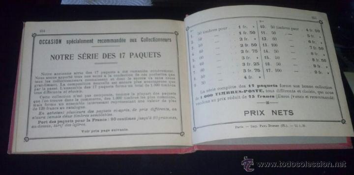 Sellos: TIMBRES-POSTE PETIT ALBUM DU COLLECTIONNEUR 1939 - ANTIGUO ALBUM DE SELLOS DEL MUNDO - Foto 4 - 48732826