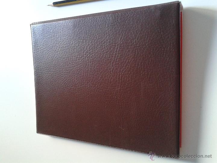 Sellos: album de sellos tamaño pequeño con anillas color marrón. sin usar - Foto 4 - 51329362